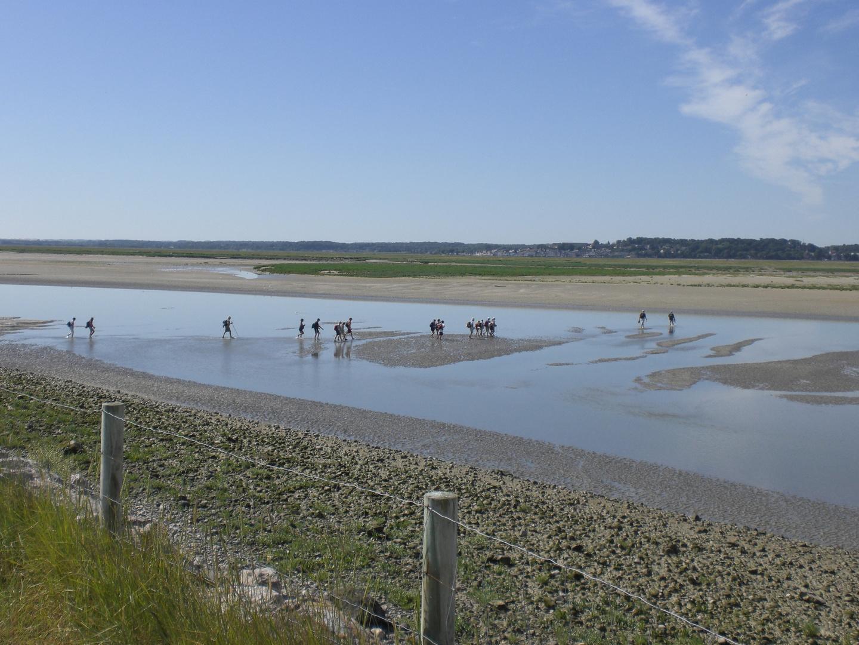 Traversée de la Baie de Somme - Août 2010