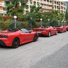 Treff der Ferrari