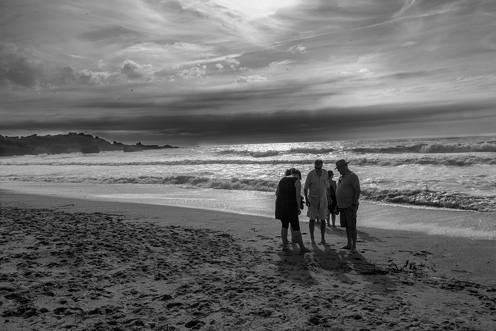 Treffen am Strand / Beach meeting