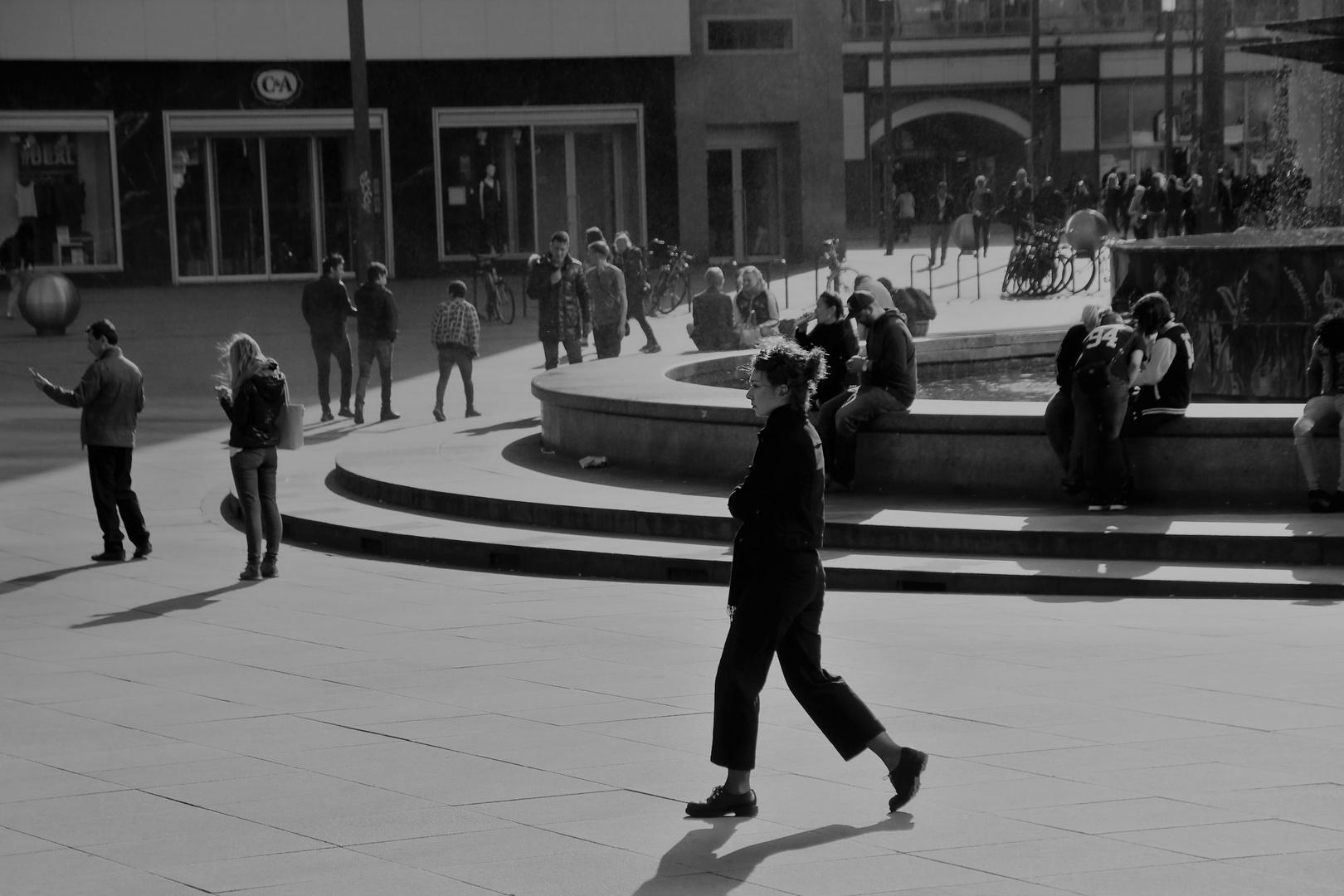 Treffpunkt Alexanderplatz oder Sabrinas Verabredung