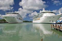 Treffpunkt der Kreuzfahrtschiffe