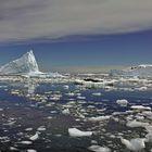 Treibeis in der Antarktis