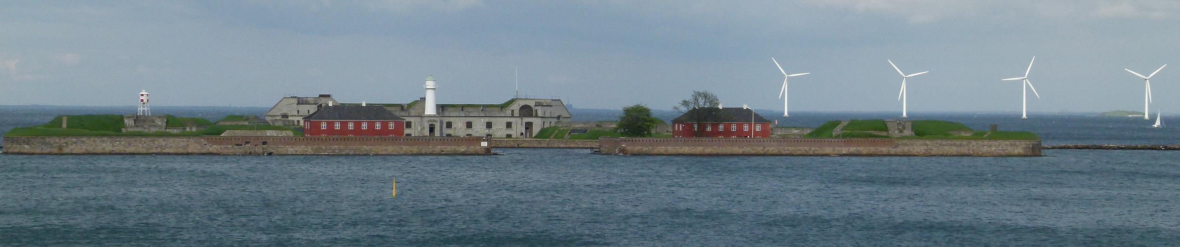 Trekroner Festung vor Kopenhagen