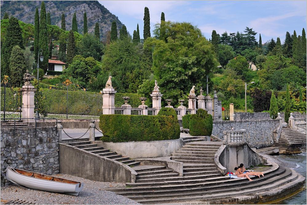 Tremezzo - Treppen am See