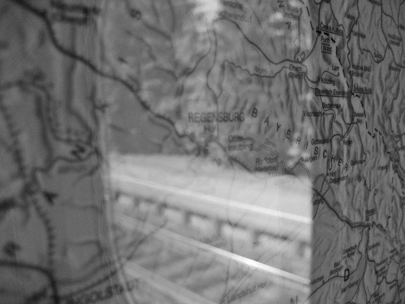 tren a Regensburg - Zug nach Regensburg