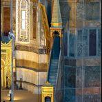 Treppe 34 - Minbar in der Hagia Sophia