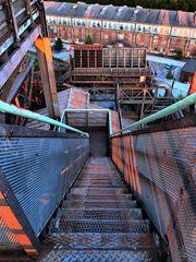 Treppe abwärts