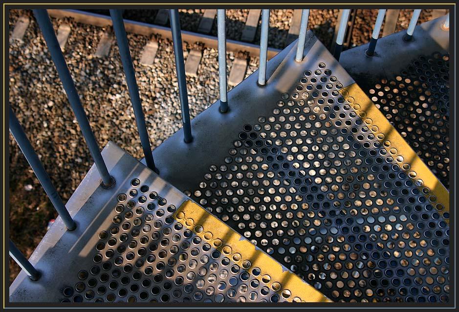 Treppe am Rangierbahnhof 3