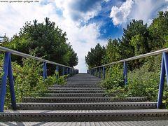 Treppe der Schurenbachhalde in Essen