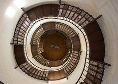 Treppe des Jagdschlosses Granitz auf Rügen