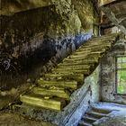 Treppe für leichtgewichtige.