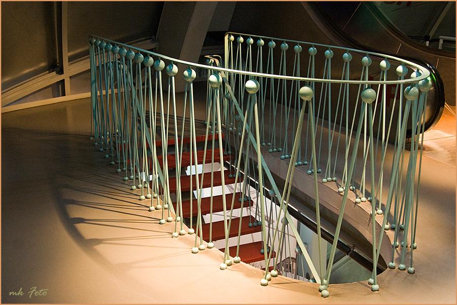 Treppe im Atomium 1