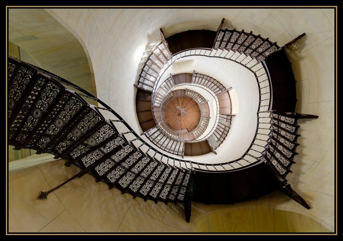 Treppe im Jagdschloß Granitz