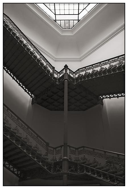 Treppe im Naturkundemuseum