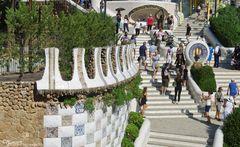 Treppe im Park Güell