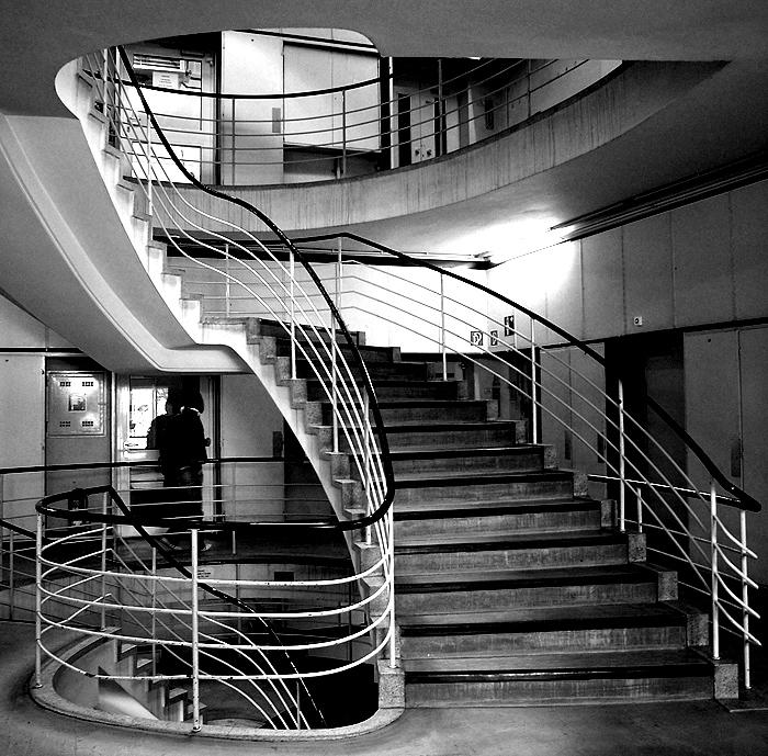 Treppe im Quadrat
