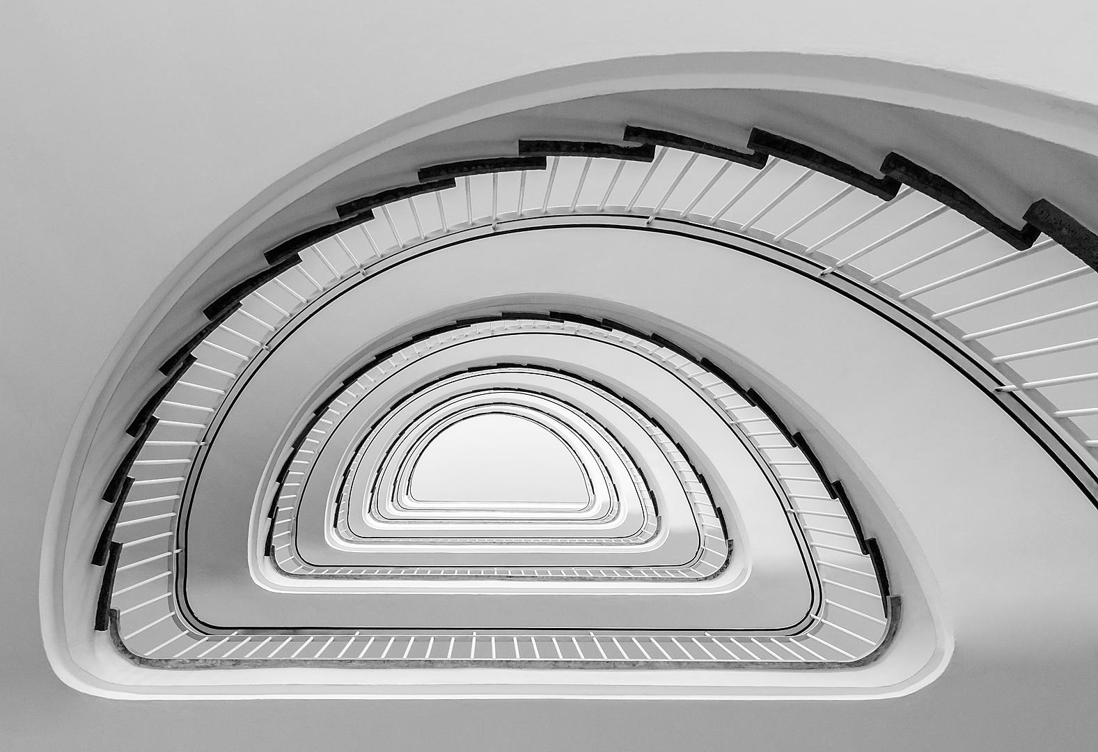 Treppe im Stadthaus 1 in Münster