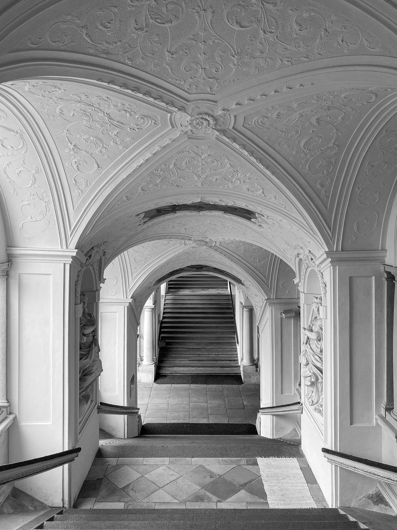 Treppe im Stift St.Florian