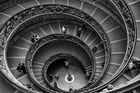 Treppe im Vatikan Museum