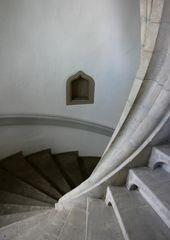 Treppe im Wasser-Schloß Bad Rappenau