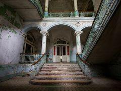 Treppe in die Vergangenheit