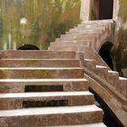 Treppe in einer unterirdischen Moschee!