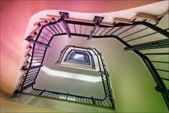 * Treppe in pastell...