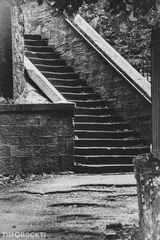 Treppe in Schottland