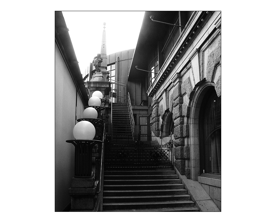 Treppe in Stockholm