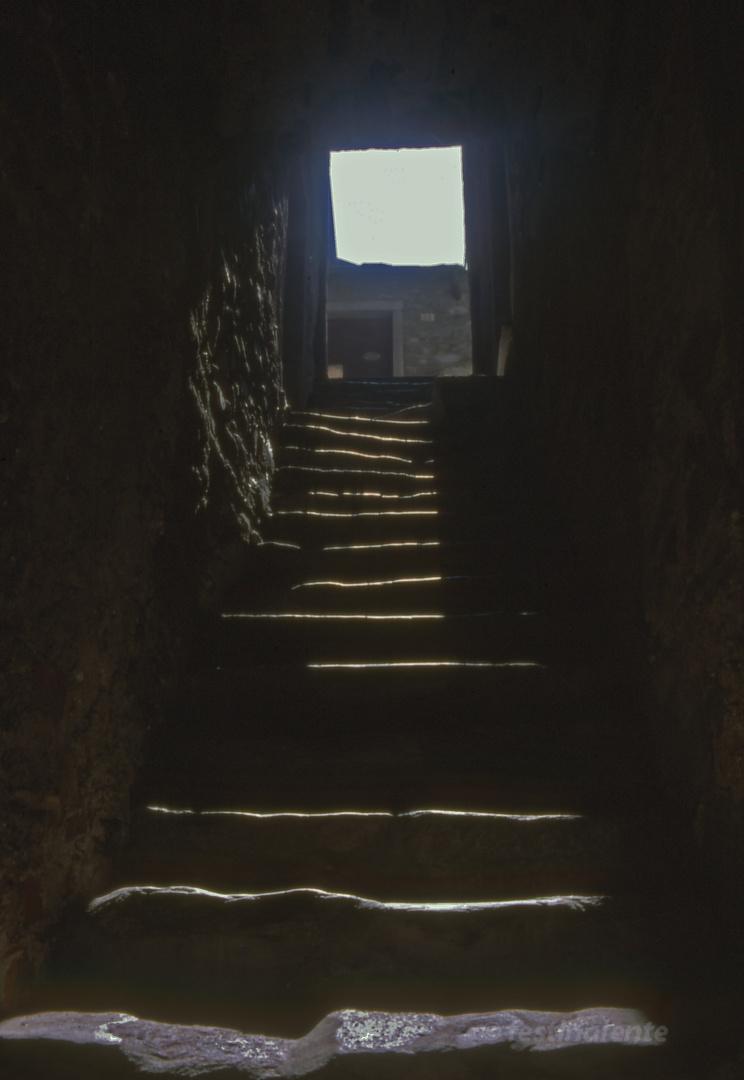 Treppe in Stresa