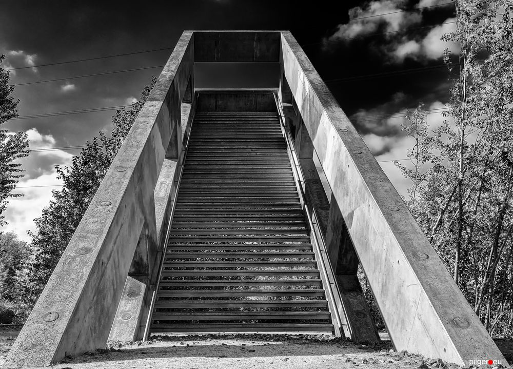 Treppe ins absolute NICHTS