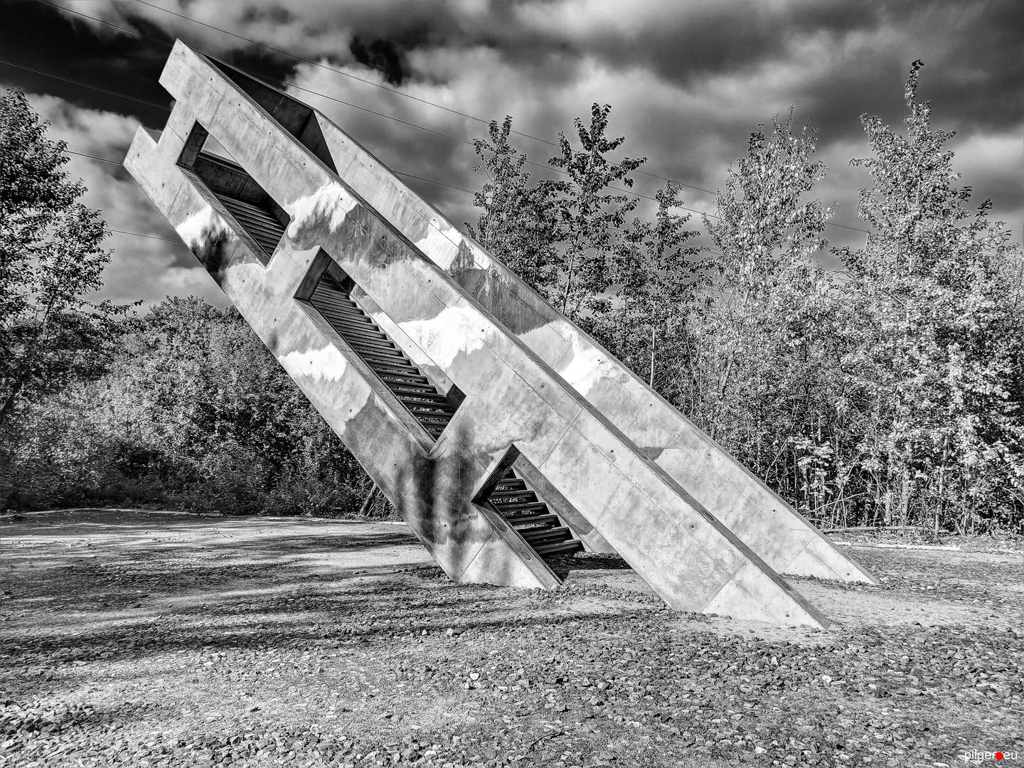 Treppe ins absolute NICHTS II