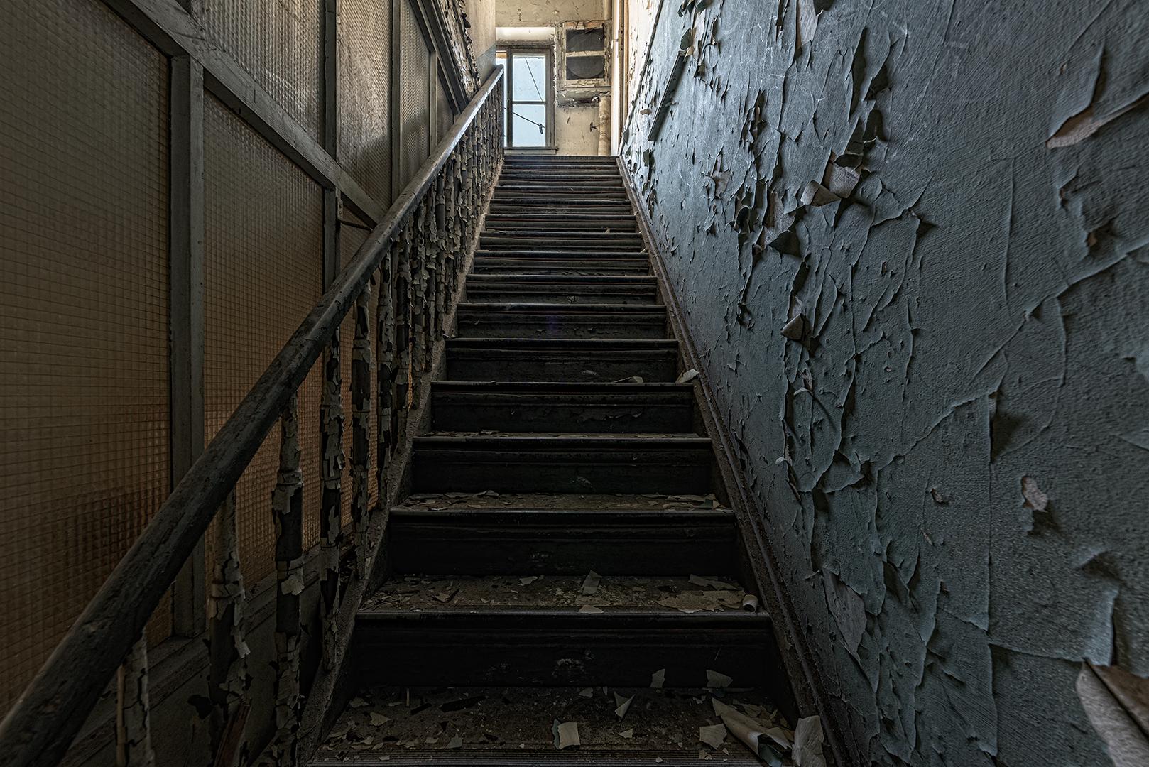 Treppe mit Blätterteig