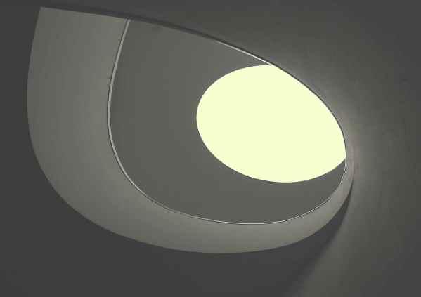 Treppe mit Obererlicht vom Feinstem
