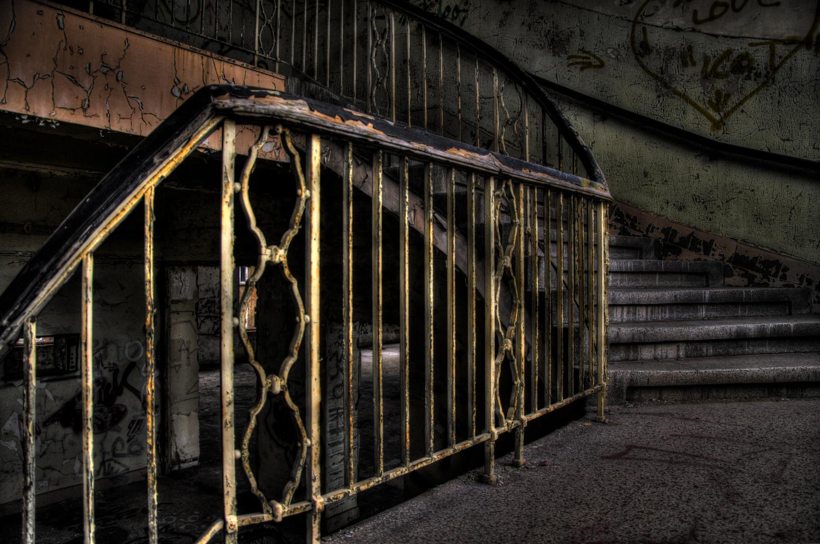 Treppe mit Vergangenheit....