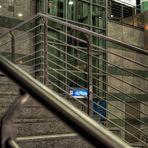 Treppe oder Aufzug?