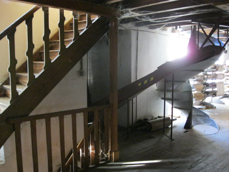 treppe oder rutsche moulin de bissen foto bild industrie und technik industrie kultur. Black Bedroom Furniture Sets. Home Design Ideas