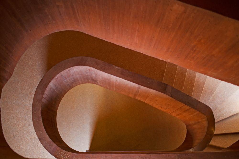 Treppe rauf und runter