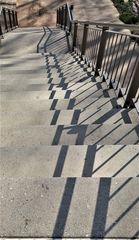 Treppe und Schatten ( umgearbeitet )