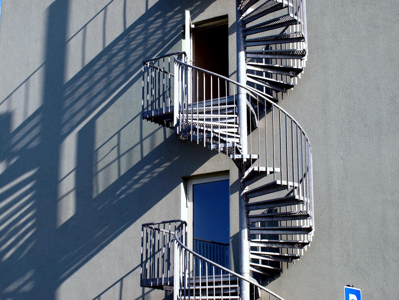 Treppe wohin ?