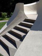 Treppe zum Einsteinturm in Potsdam
