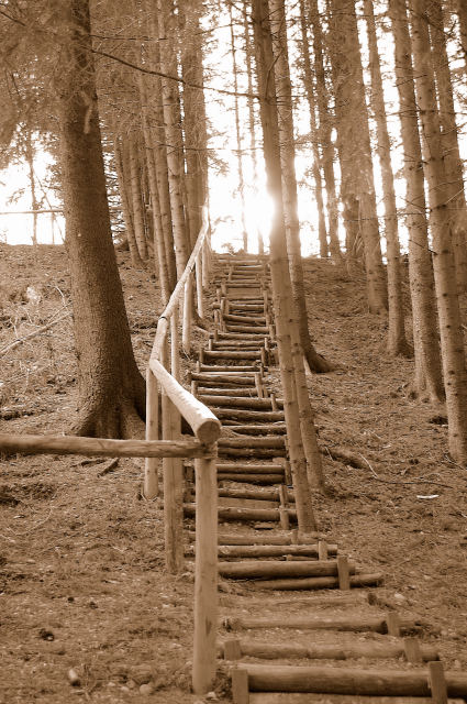 Treppe zum Licht