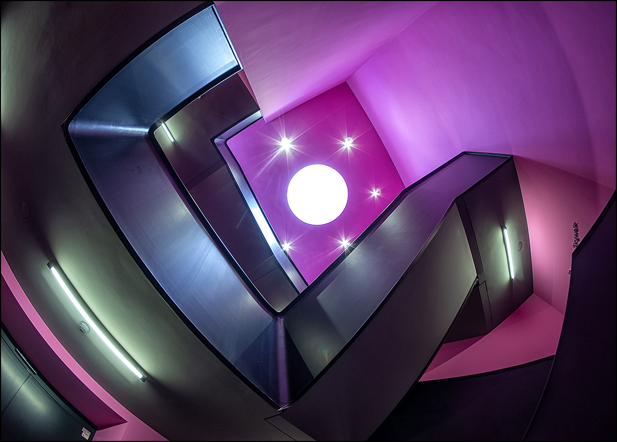 Treppe zum Skywalk
