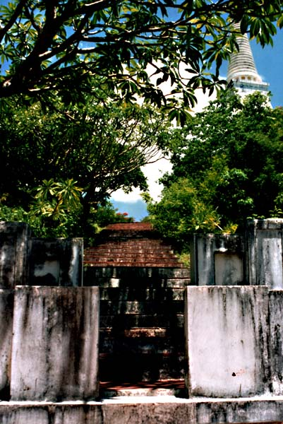 Treppe zum Tempel II Versuch