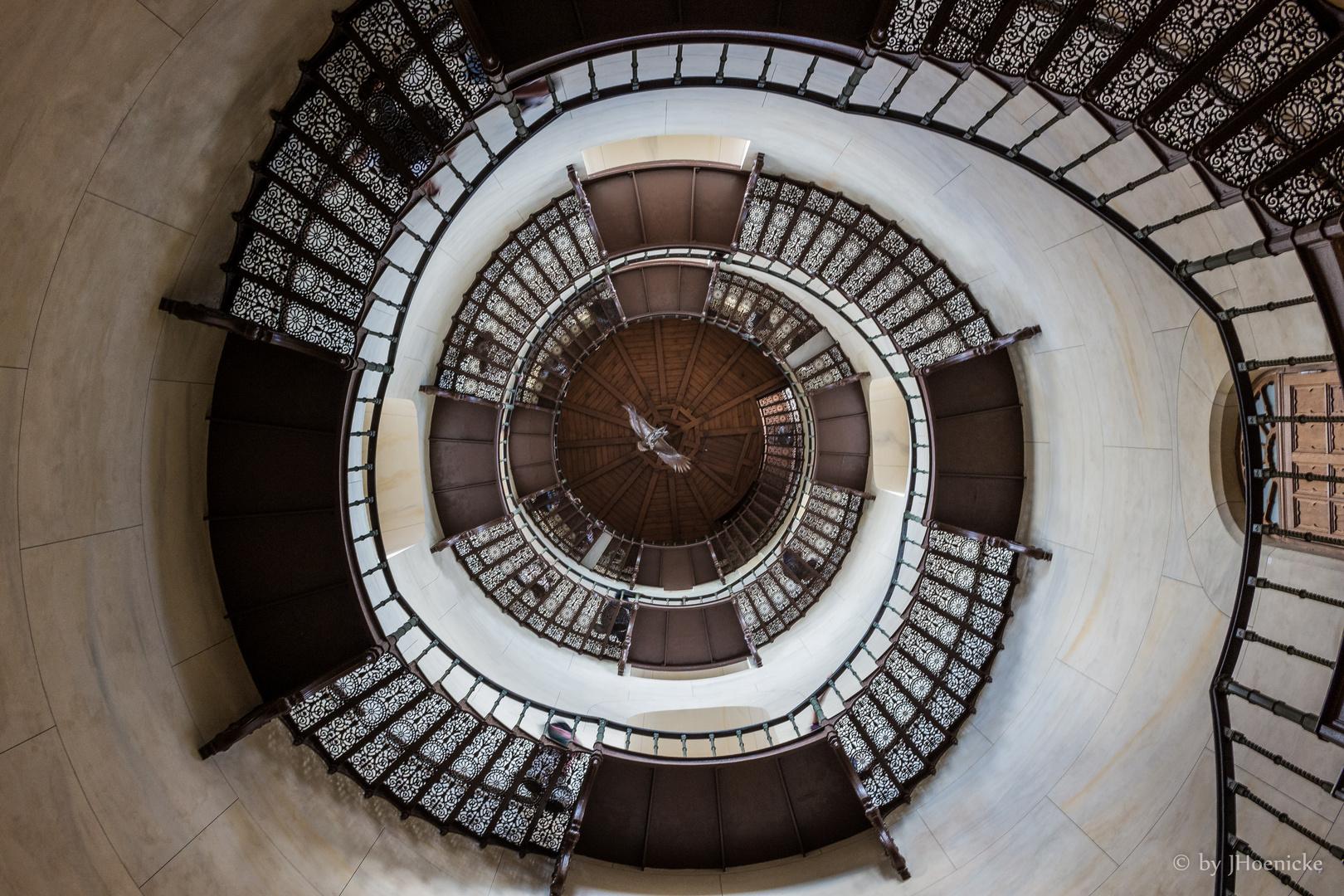 ... Treppe zur Aussicht