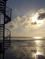 Treppe zur Sonne