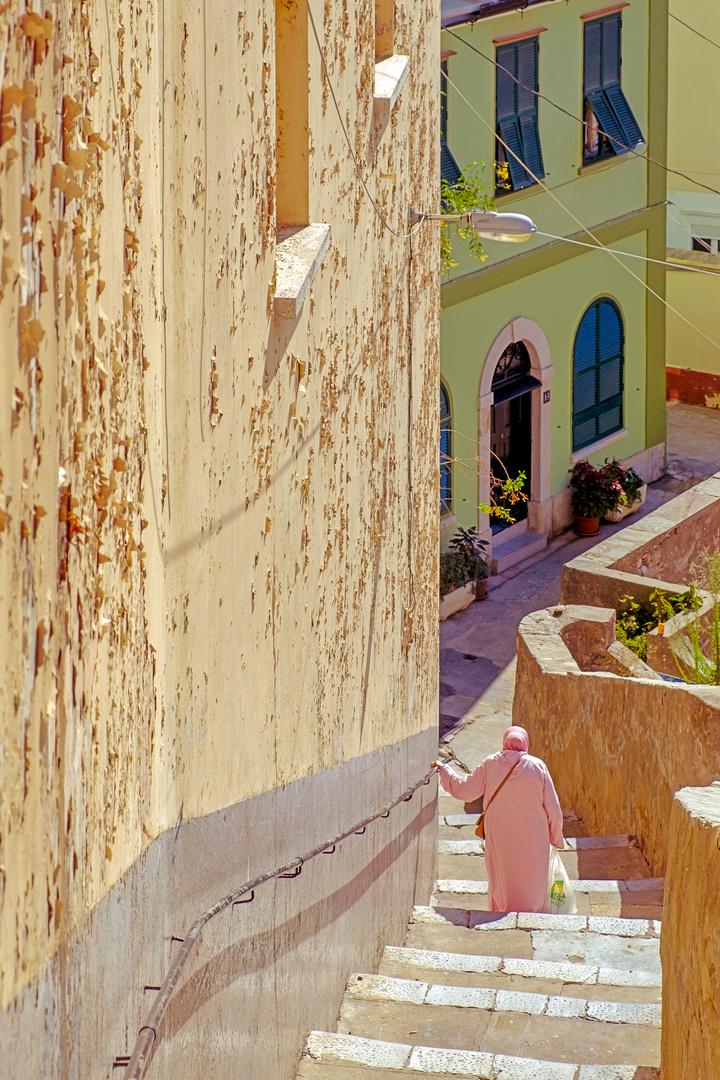 Treppen in Gibraltar