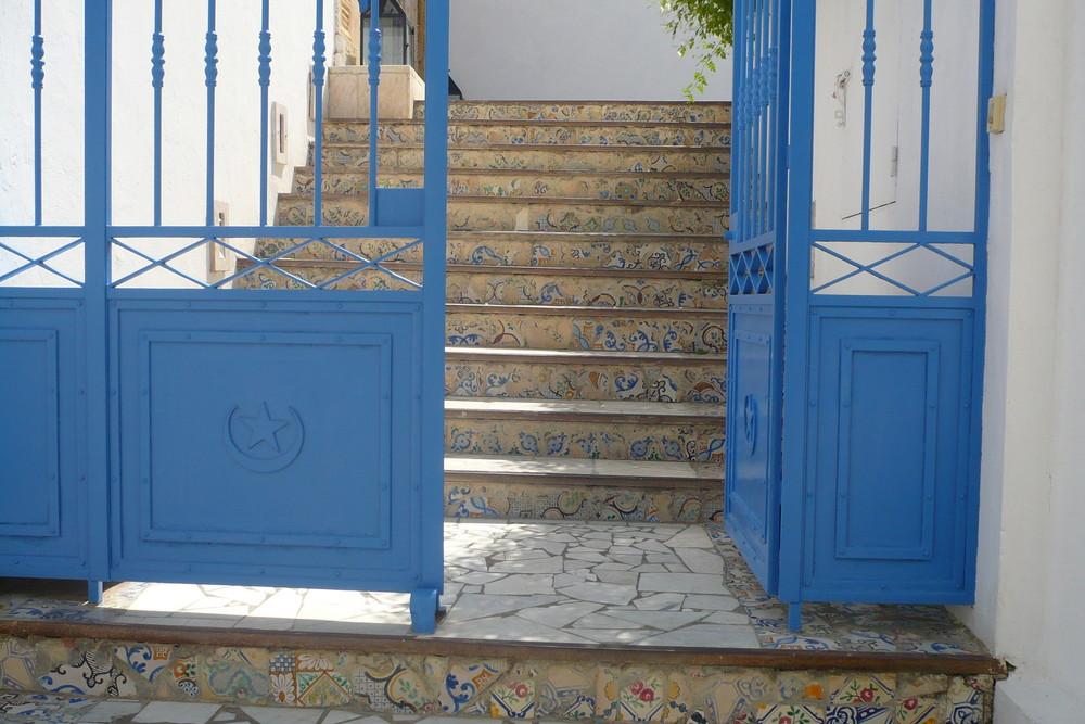 Treppen in Sidi Bou Said