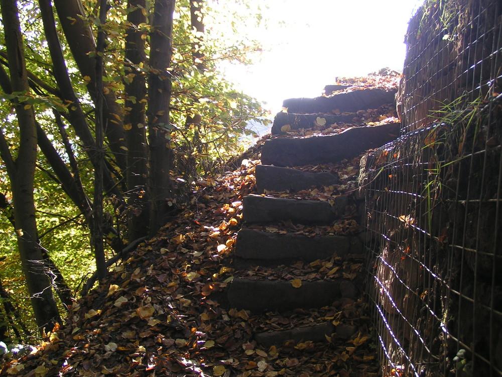 Treppen ins Nirgendwo