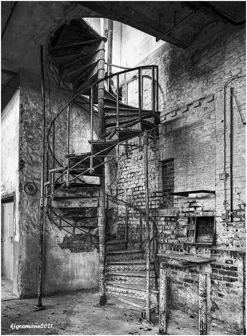 treppenaufgang....